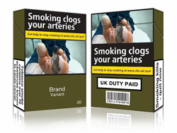 Britain follows Australia's lead on plain packaging for tobacco products